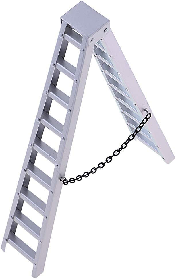 1/10 Escalera Aluminio de Accesorio Coche para Casa de Muñeca: Amazon.es: Bricolaje y herramientas