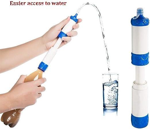 ZYXJSQ Purificador de Agua portátil Filtro de Agua de Campo ...