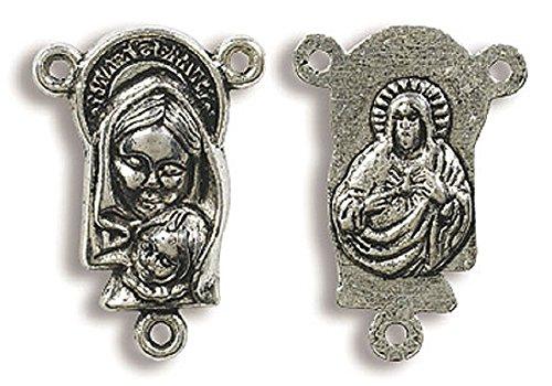 Centro de mesa, Rosario, Virgen y niño,, 50PK