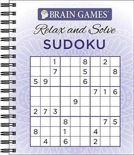 Brain Games - Relax and Solve: Sudoku (Purple)