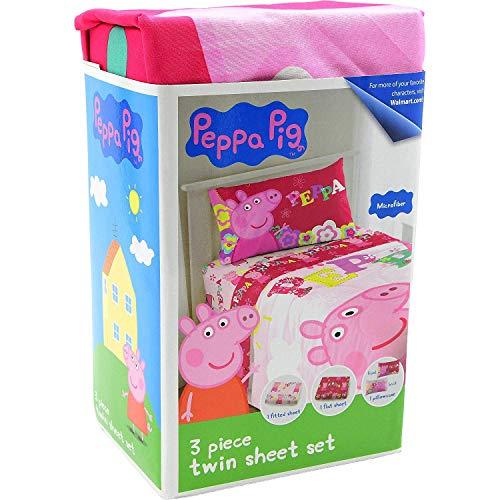 Peppa Pig 3 Piece Twin Bed Sheet Set Microfiber Buy