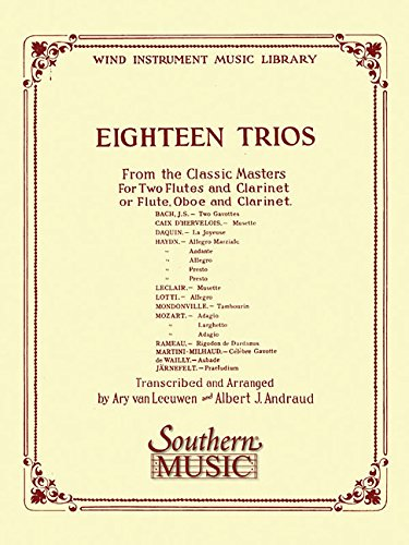 18 Trios (Complete) from Classic Master: Woodwind Trio