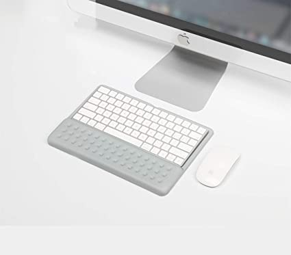Amazon.com : BUBM Wrist Rest Support Keyboard Pad for Apple Magic Keyboard (MLA22LL/A) (Gray) : Office Products