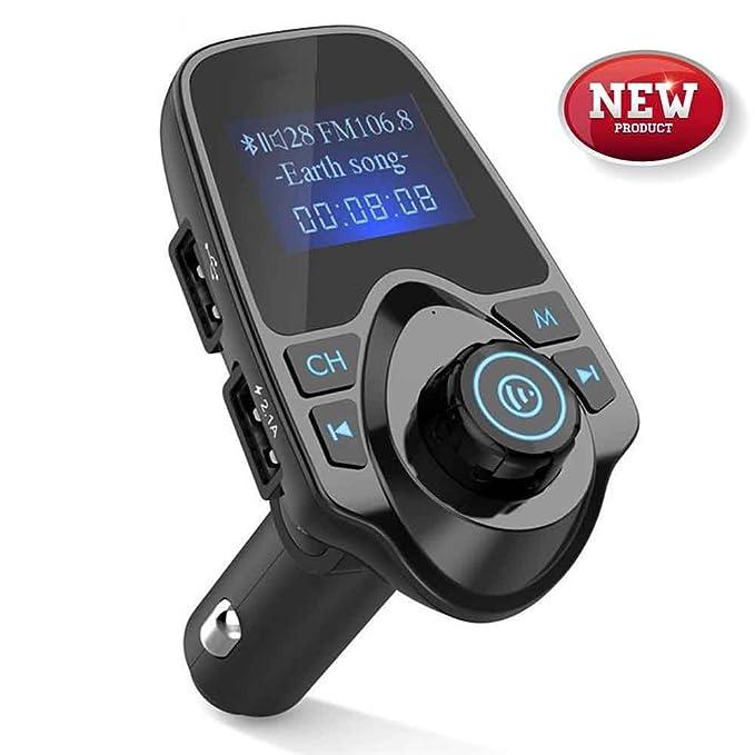 Wireless USB Car Bluetooth FM Transmitter Radio Adapter Charger w// MP3 Player WW
