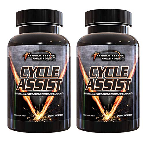 Cycle Assist by CEL: All-in-One On Cycle Support with Advanced Liver Assist and Organ Protection. 60 Servings. Includes Milk Thistle, Saw Palmetto, and Hawthorne (2) (Best Liver Protection On Cycle)