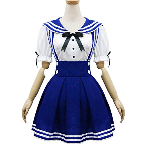 Japan School Uniform Cosplay Costume Anime Girl Maid