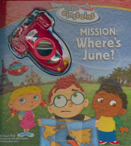 Disney's Little Einstein: Mission: Where's June? (Little Einsteins) -