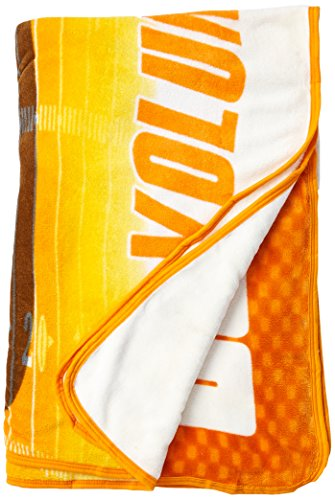 (Officially Licensed NCAA Tennessee Volunteers Overtime Micro Raschel Throw Blanket, 60