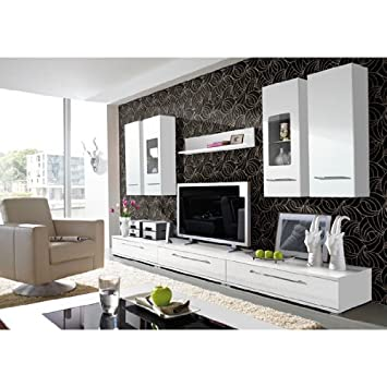 cool living room furniture set in high gloss white cool living room furniture set in
