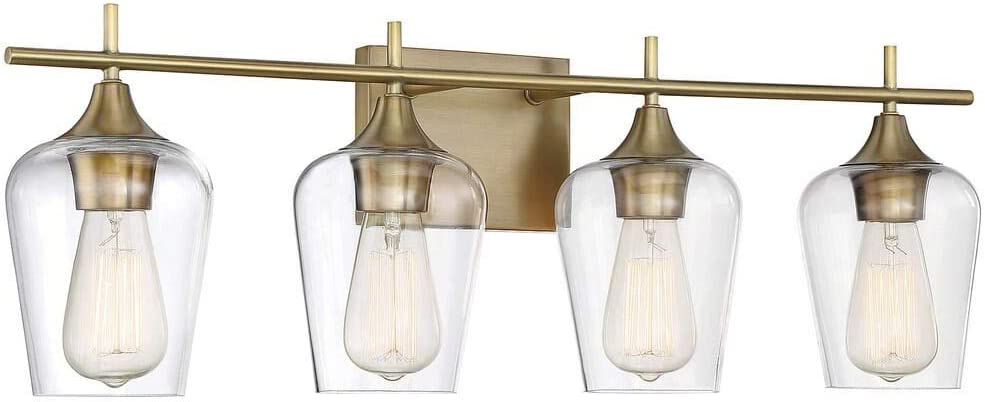 New Modern Frosted Bathroom Vanity Light Fixture Contemporary Sleek Dimmable LED Cylinder Bar Design Vertical or Horizontal Tube with Brushed Nickel Wall Sconce 3000K Warm White