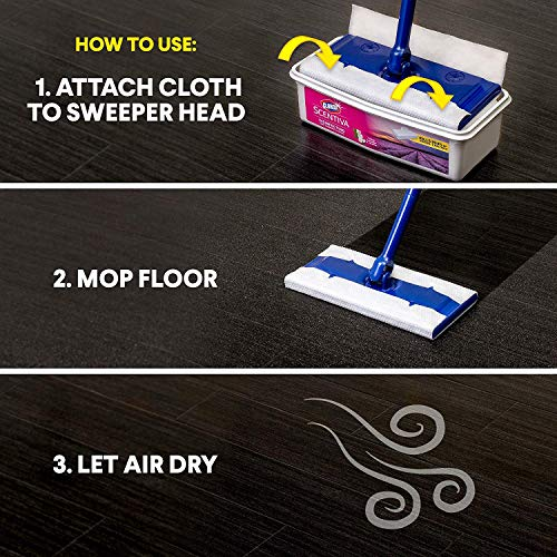 Clorox Scentiva Disinfecting Wet Mopping Cloths
