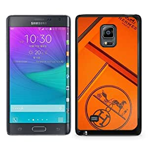 Samsung Galaxy Note Edge Case ,Fashion And Unique Designed Samsung Galaxy Note Edge Case With Hermes 46 Black Hight Quality Cover
