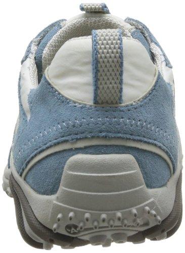 Allrounder by Mephisto - Zapatillas de deporte de terciopelo para mujer Azul (Bleu)