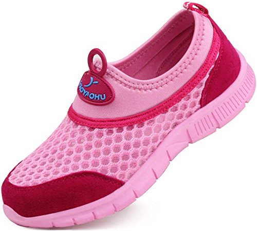 ppxid-boys-girls-mesh-athletic-slip-on-loafers-sneaker-running-shoes-pink-45-us-size