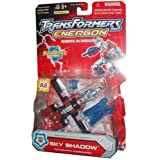 Transformers Year 2004 Energon Robots In Disguise 6 Inch Tall Action Figure Powerlinx Combiners for Superion Maximus (#2 of 5) - Autobot Sky Shadow A2