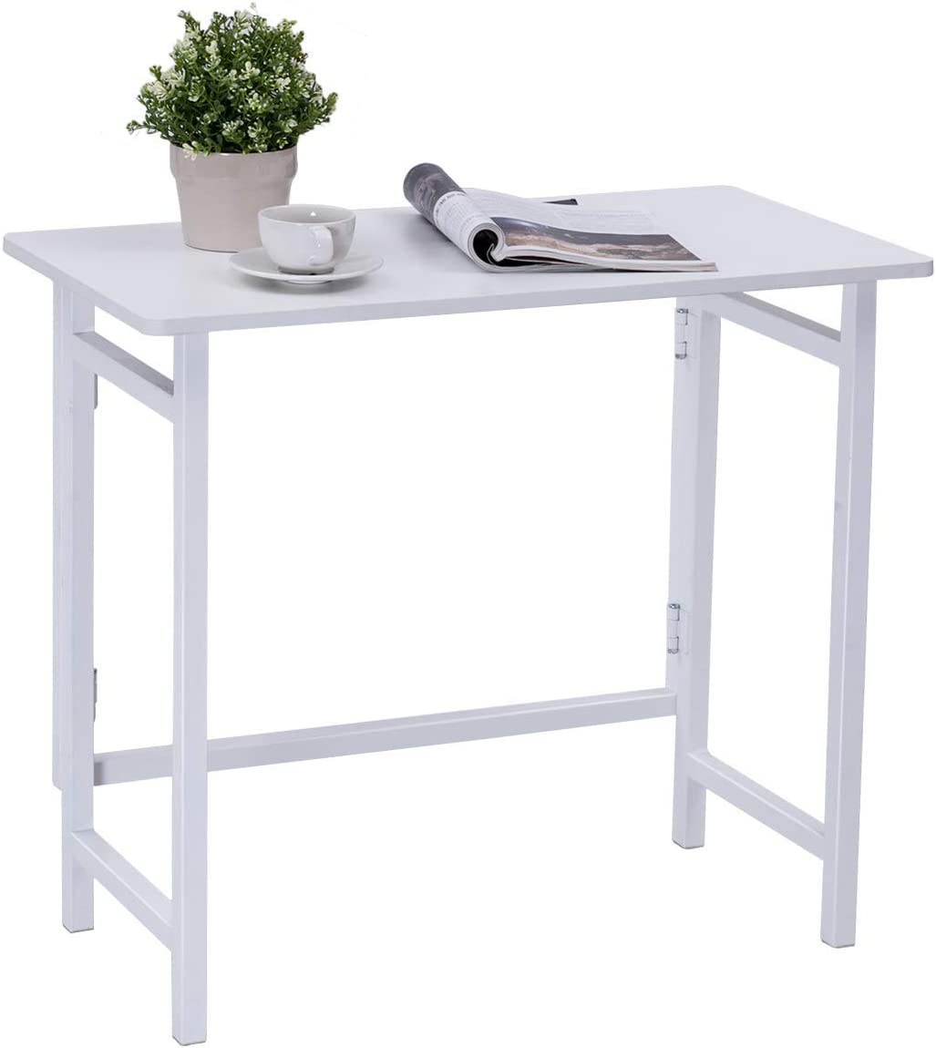 Tangkula Mobile Standing Desk, Height Adjustable Stand Up Desk Computer Workstation, Movable Computer Desk with 4 Rolling Wheels Footrest, Suitable for Sitting or Standing Oak
