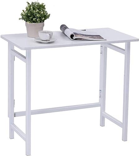 TANGKULA Folding Computer Desk