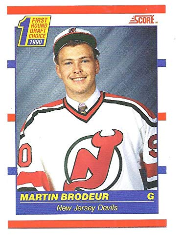 Martin Brodeur 1990 91 Score Canadian French Bilingual 439 Rc