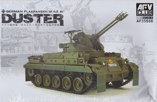 (AFV35S66 1:35 AFV Club German Flakpanzer M42A1 Duster MODEL KIT)