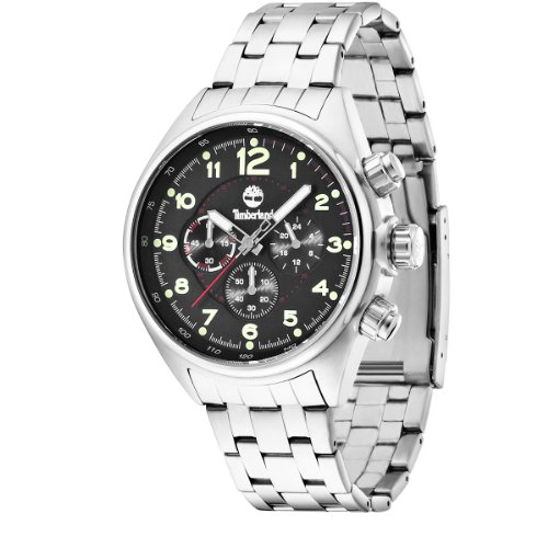 Timberland 13675JS-02M Mens Tarleton Black Steel Watch
