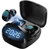 Wireless Earbuds,Bluetooth 5.0 Headphones Touch Control TWS Stereo Charging Case IPX8 Waterproof Wireless Headphones LED…