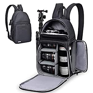 Best Epic Trends 510a6o3ANHL._SS300_ CADeN Camera Bag Sling Backpack for DSLR/SLR Mirrorless Camera, Camera Case Compatible for Sony Canon Nikon Camera and…