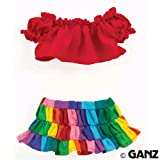 Webkinz Clothing - Kaleidoscope Skirt Set