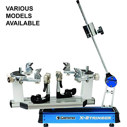 Tournament Crank - Gamma X-6 FC Racquet Stringer: X-Stringer X-6 FC Tennis Racquet Stringing Machine with Stringing Tools / Accessories - Tennis, Squash and Badminton Racket Stringer - Tabletop Racket Restring Machines
