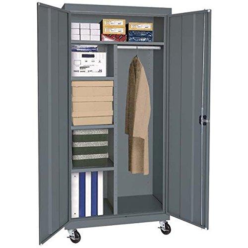Sandusky Lee TACR362460-02 Transport Series Mobile Combination Storage Cabinet, (Series Mobile Combination Cabinet)