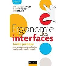 ERGONOMIE DES INTERFACES POUR LA CONCEPTION DES APLLICATIONS WEB, LOGICIELLES, MOBILES ET TACTILES