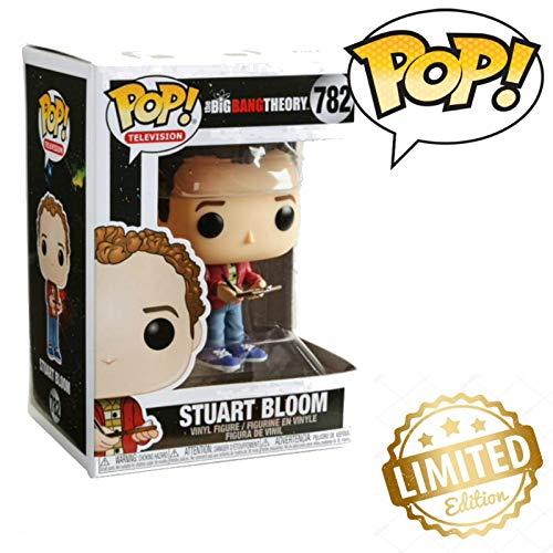 Pop! TV: Big Bang Theory - Stuart, Multicolor Limited Edition