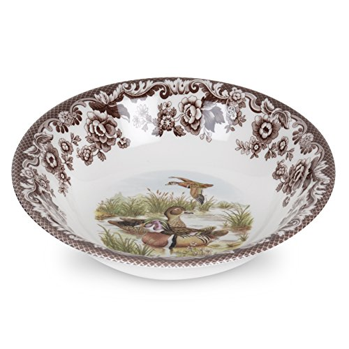 Spode 1566392 Woodland Ascot Cereal Bowl (Wood Duck)