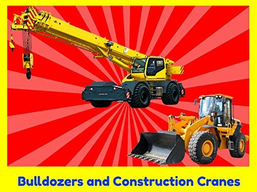 Bulldozers and Construction Cranes