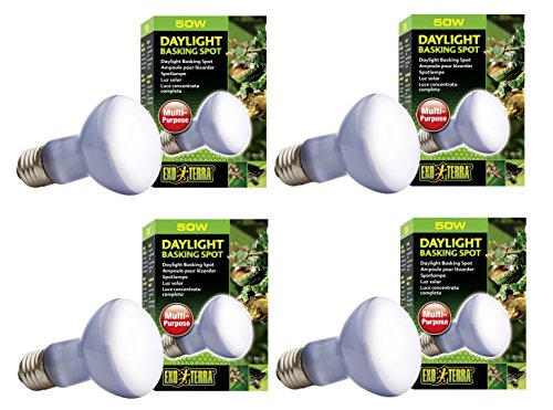 Exo Terra Daylight Basking Spot Lamp - Basking Lamp Spot Uva Reptile