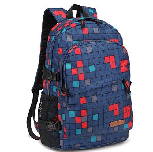 Fieans Neust Freizeit Stil Oxford Cloth Grosse Sportsrucksack Uni Rucksack  Schulranzen Notebook Rucksack Camping Rucksack- ...