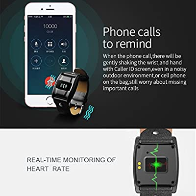 Fitness Tracker, LESHP Smart Bracelet Heart Rate Monitor Bluetooth 4.0 Waterproof OLED Touch Screen Activity Tracker Pedometer Tracking Calorie Health Smart Wristband for iPhone IOS Android