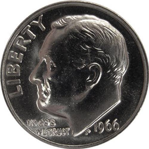 1966 SMS Special Mint Set Roosevelt Dime US Coin