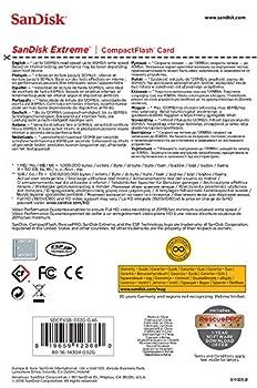 Sandisk Extreme Sdcfxsb-032g-g46 32gb Compactflash Memory Card 2