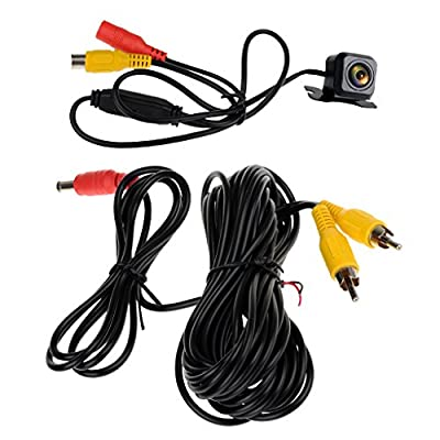 Baoblaze Adjustable Night Vision HD Car Rear View Backup Parking Camera Waterproof and Dustproof Lens 12V