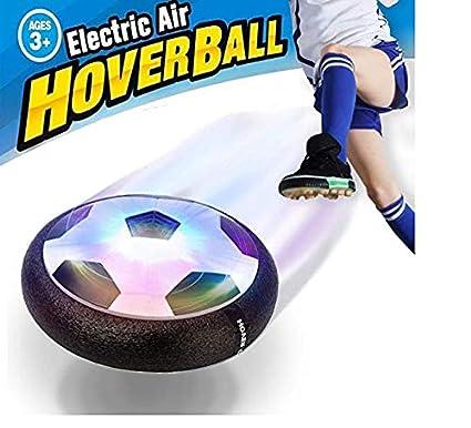 eace08dcb02 FYKJ JT811 Kids LED Hover Air Power Soccer Ball Disk - 18 x 18 x 6.8 cm   Amazon.co.uk  Toys   Games