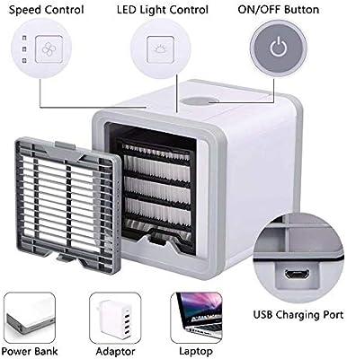 furein Mini Aire Acondicionado USB,Climatizador Portátil ...