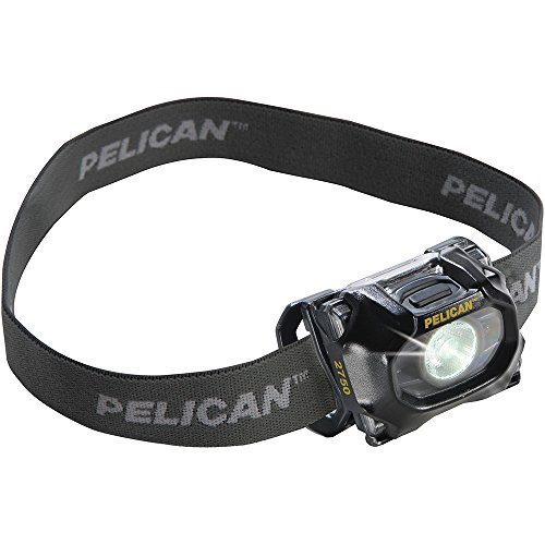 Pelican Products Heads (Pelican 193L 2750 LED Headlight, Black)