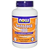 Now Foods, TestoJack 100, 120 Veggie Caps - 3PC