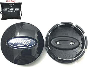 With Automelody Gift Bag 2 1//8 inches, C-Max Automelody 4pcs A Set Of Wheel Center Caps Hubcap For Ford C-Max Edge Escape Expedition Explorer Fiesta Flex Focus Freestar Fusion Ranger Taurus
