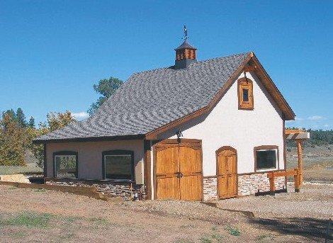 - 41 Small Barn Plans - Complete Pole-Barn Construction Blueprints