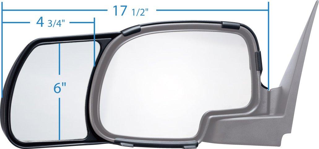 Snap /& Zap 80800 Chevrolet Silverado Towing Mirror Pair K Source