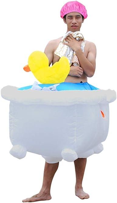 Amazon.com: Guayai - Disfraz inflable de pato para bañera o ...