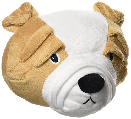 The Bulldog by Zeus, Interactive Dog Toy for Large & Small Dogs, Durable Dog Toy for Boredom ()