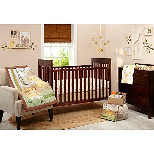 Lion King Under the Sun Crib Bedding Set, - Baby Kings Crib Bedding