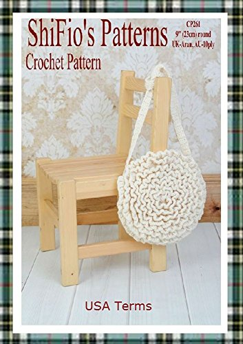 Crochet Ruffle Bag Pattern - 5